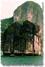Halong Bay's Limestone Formations